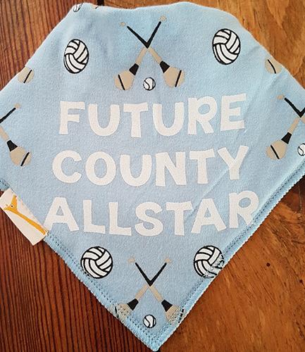 GAA Future County Allstar Light Blue Bandana Bib