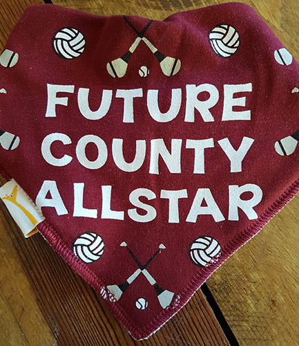 GAA Future County Allstar Maroon Bandana Bib
