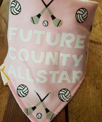 GAA Future County Allstar Pink Bandana Bib