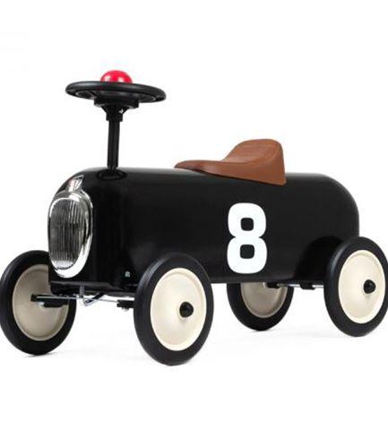 Racer Black Vintage Ride On