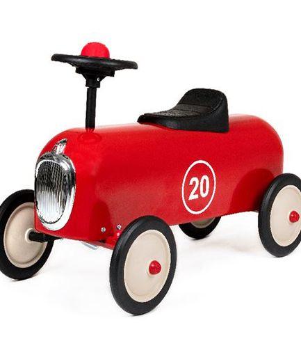 Racer Red Vintage Ride On