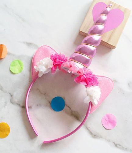 Unicorn Headband Pink