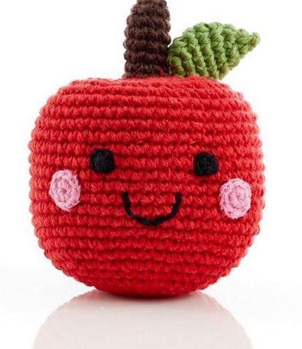 Friendly Fruit Apple Rattle
