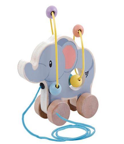 Elephant Bead Coaster Elephant