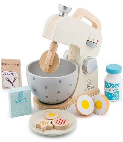 White Mixer with Accessories