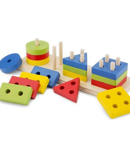 Geometric Stacking Toy