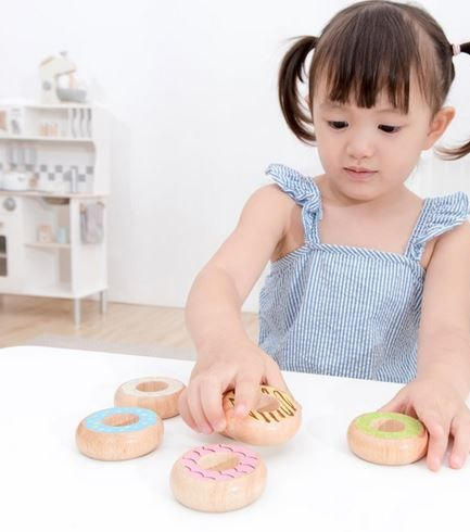 Wooden Donuts 6pk