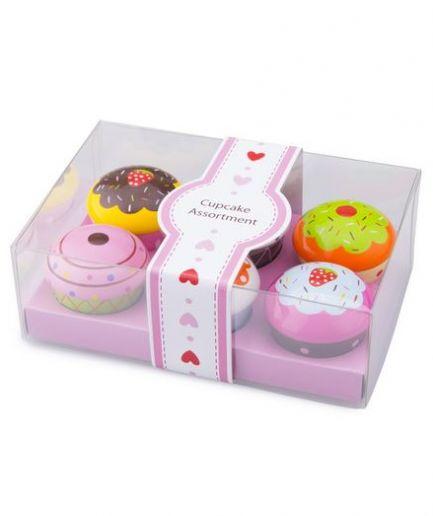 Cupcake Assortment in Giftbox 6pk