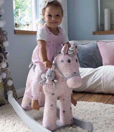 Celeste & Fae Rocking Unicorn - Large - 12months +