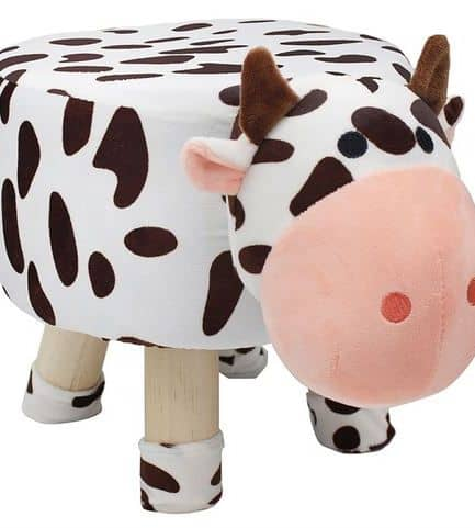 Wooden Cow Stool 45cm