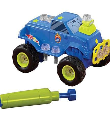 Design and Drill Monster Truck