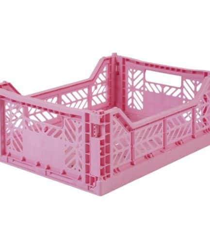 Aykasa Folding Crate Midi Baby Pink