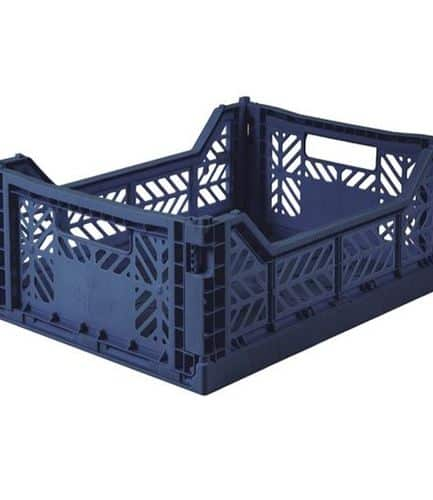 Aykasa Folding Crate Midi Navy