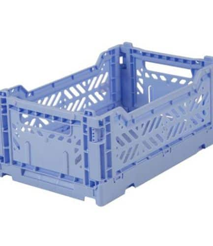 Aykasa Folding Crate Mini Baby Blue