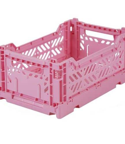 Aykasa Folding Crate Mini Baby Pink