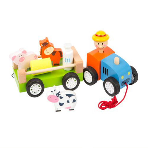 Farmer with Animals Pull Along Toy