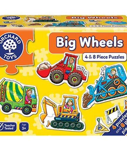 Big Wheels Puzzles